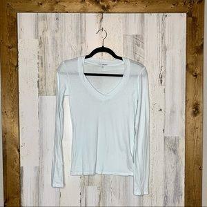 Standard James Perse long sleeve T-shirt blue